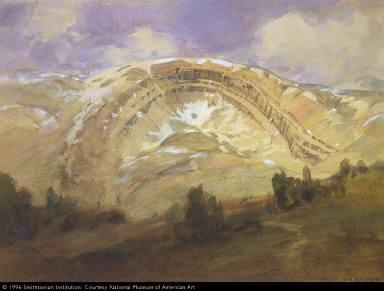 Folded Strata, a Great Geological Arch, Colorado