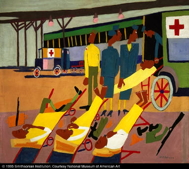 Red Cross Ambulance Stop