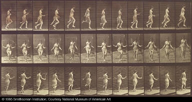 Woman Using Skipping Rope, from the book Animal Locomotion