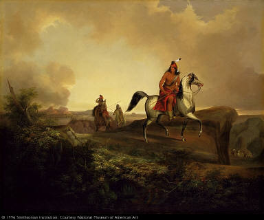 Black Knife, an Apache Warrior