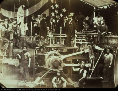 Engine of the U.S.S. Kearsarge