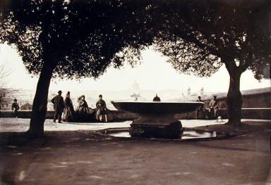 Fontana dellí Academia de Francia-Villa Medici