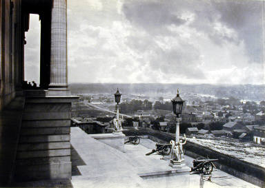 Nashville from the Capitol. Plate 3 from Photographic Views of Sherman's Campaig