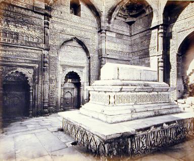Delhi: Tomb of Shumsh-ood-deen [?]