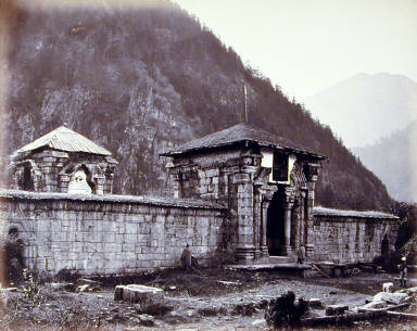 Kashmir Ancient Temple at [ ] Kashmir