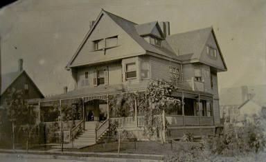 Suburban Clapboard House