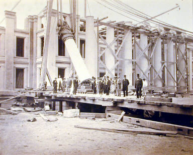 Construction of the South Wing, Department of the Treasury, Washington, D.C.