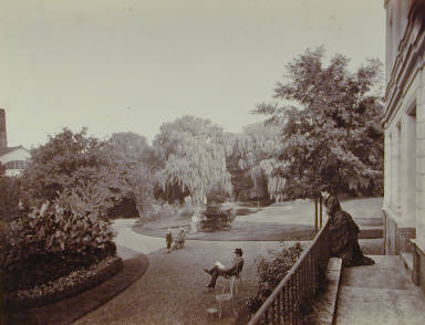 The Grounds from the Porch