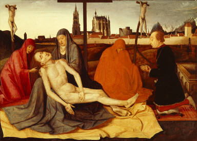 Pietà with Donor