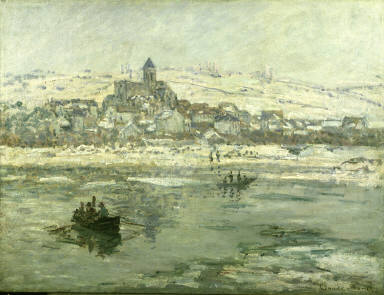 Vétheuil in Winter