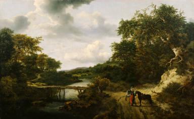 Landscape with a Footbridge