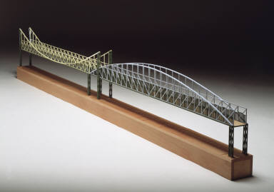 Model for the Irene Hixon Whitney Bridge