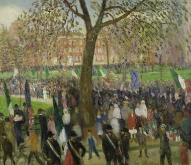 Parade, Washington Square