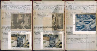 Artist's ledger - Book I: P. 54