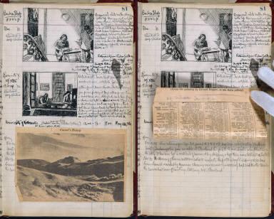 Artist's ledger - Book I: P. 81