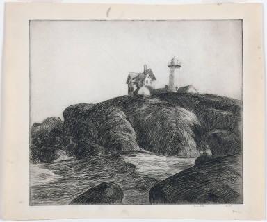 The Lighthouse (Maine Coast)