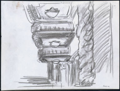 [Palace: Study for New York Movie, Palace: Drawing for painting New York Movie]