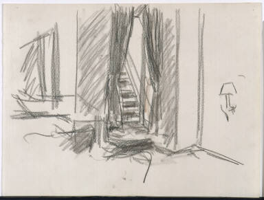 [Study for New York Movie, Drawing for painting New York Movie]
