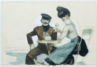 (Couple Drinking)