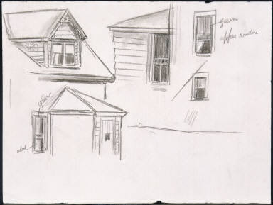 Study for House on the Cape