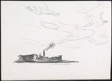 Study for Blackwell's Island