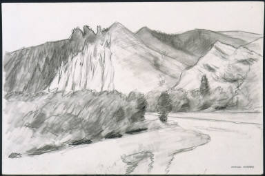 (River and Mountains)