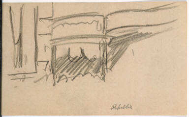 [Republic: Study for New York Movie, Republic: Drawing for painting New York Movie]