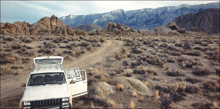 Owens Valley near Lone Pine, California