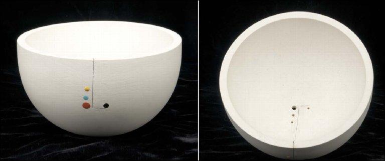 Circular White Bowl