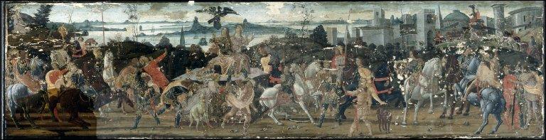 Tarquinius Priscus Entering Rome