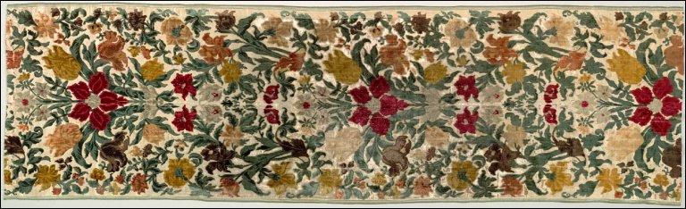 Length of Floral Velvet