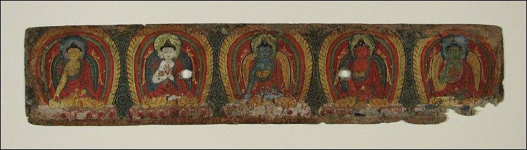 Five Transcendental Buddhas