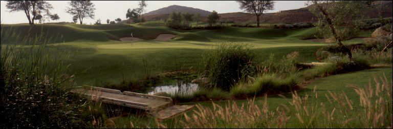Maderas Golf Club, 1st Green, Poway, CA, 2000