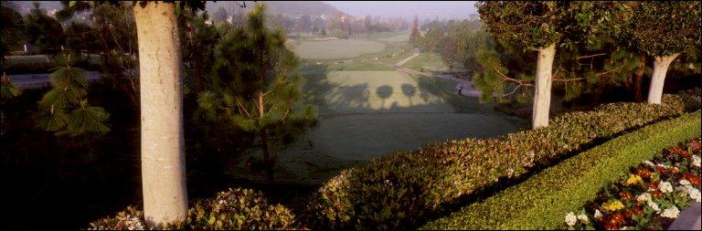 Del Mar Country Club 13th hole, Del Mar, CA, 2001