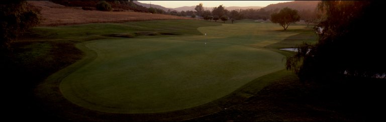 Steel Canyon Golf Club (Ranch course) 7th hole, Jamul, CA, 2000