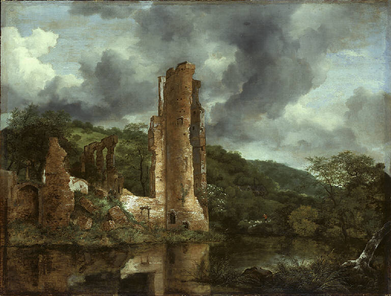 Landscape with the Ruins of the Castle of Egmond