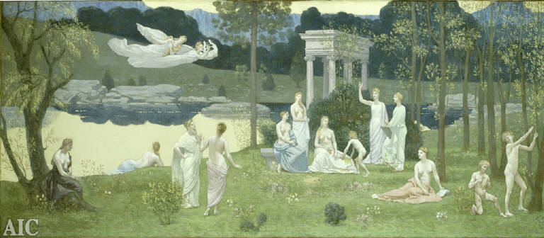 The Sacred Grove, Beloved of the Arts and the Muses