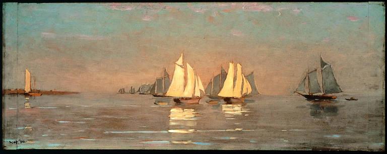 Gloucester, Mackerel Fleet at Dawn