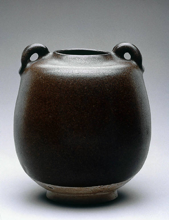 Jar with two-handles