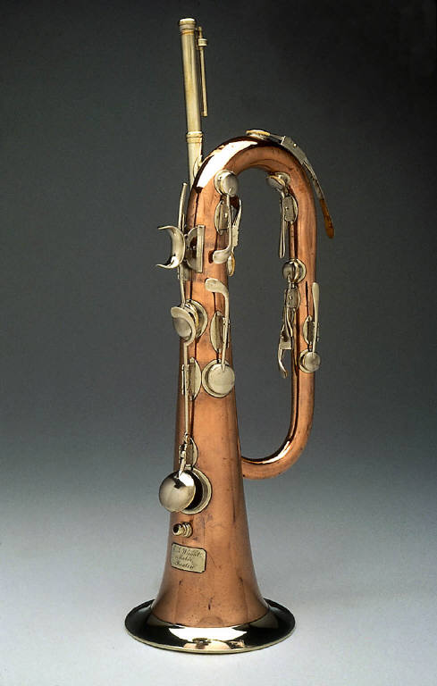 Keyed bugle in E-flat