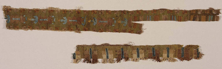 Appliqué bands for a tunic