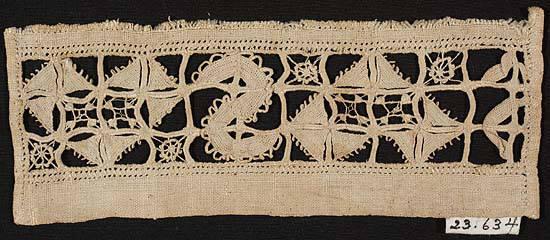Whitework sampler fragment