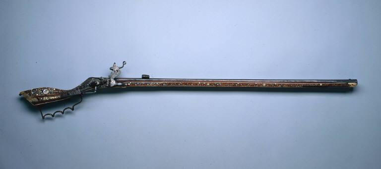 Wheel-Lock Hunting Rifle (Tschinke)