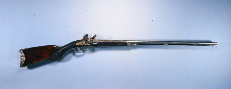 Double Barrelled Flintlock Sporting Gun