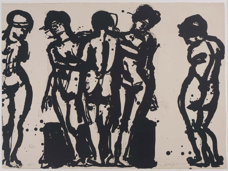 Untitled (Five Nudes)