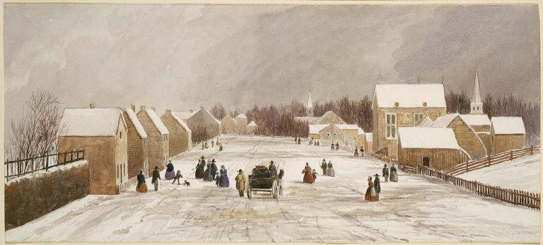 Winter, Richmond, Indiana