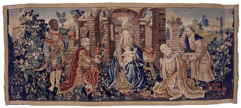 Adoration of the Magi Hanging for an Altar or Choirstall