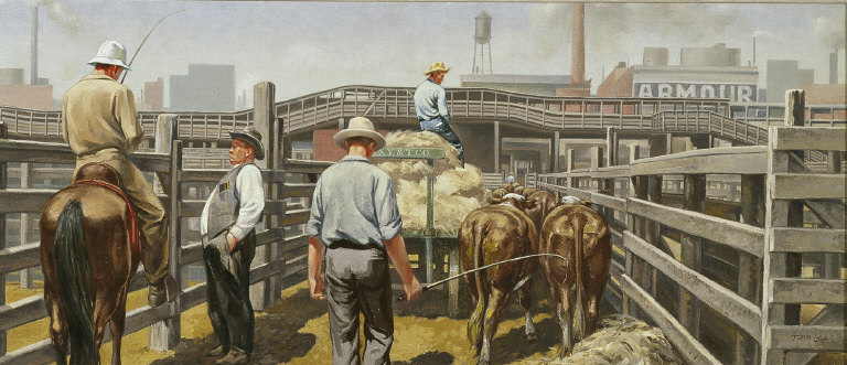 Moving to Slaughter: Union Stockyards, Chicago