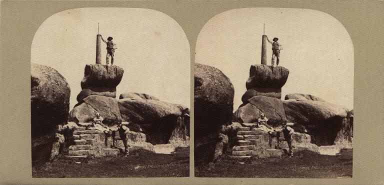 The Rowtor Rocks, Derbyshire