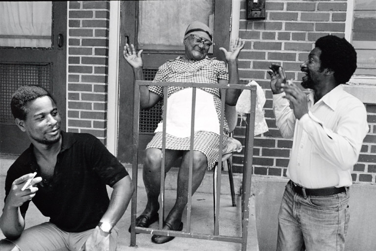 Sharing a Laugh, New Orleans